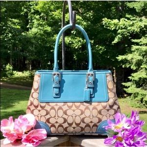 COACH Limited Edition Large Tote w/Expanding Sides